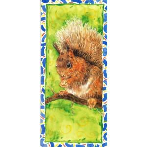 getekende wenskaarten bestellen met eekhoorn
