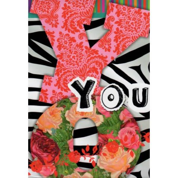 decoratieve valentijnskaart diverse kleuren