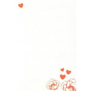 wenskaart rode bloemetjes valentijn