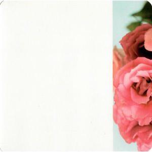 wenskaart valentijn met rode rozen