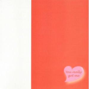 rode valentijnskaart met hartje you really got me