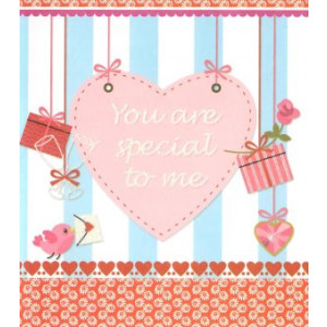 valentijnskaart you are special to me
