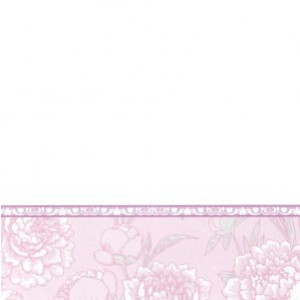 valentijnskaart met motief in wit en paars