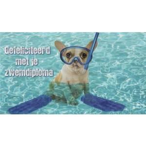 wenskaarten bestellen gefeliciteerd met je zwemdiploma