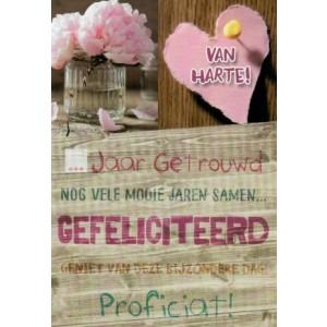 wenskaart invulbaar trouwdag