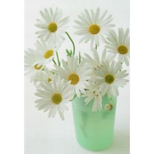 mooie wenskaarten met witte bloemen bestellen