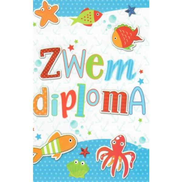 zwemdiploma wenskaarten bestellen
