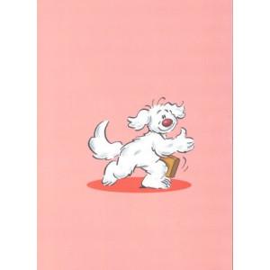 hond met koffer goedkope wenskaarten bestellen