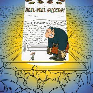 wenskaart heel veel succes beer en muis