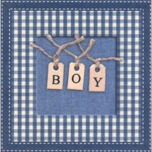 mooie wenskaarten bestellen boy met letters aan touw