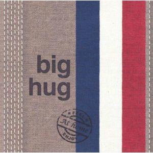 wenskaart at home big hug met rood wit blauw
