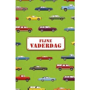 Wenskaart Vaderdag met de tekst Voor de liefste mama met de afbeelding van allerlei verschillende auto's