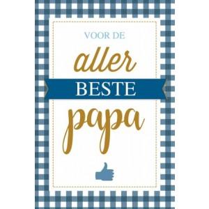 Wenskaart Vaderdag voor de allerbeste papa