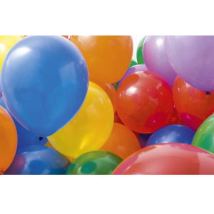 Wenskaart foto mini ballonnen