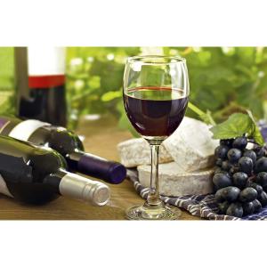 Wenskaart foto mini rode wijn