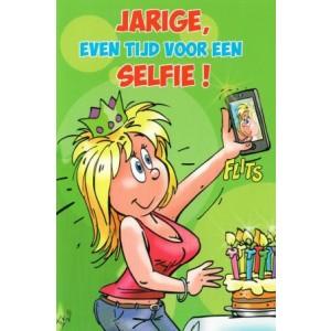 Wenskaart luxe humor felicitatie verjaardag