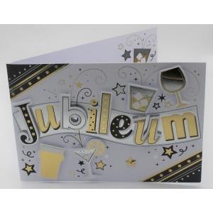 Wenskaart Laura's Secret jubileum in goud en zilver